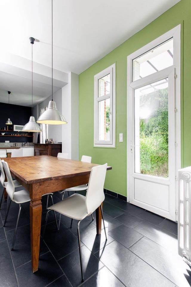 décoration peinture intérieur cuisine